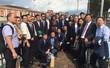Foto di gruppo della delegazione cinese