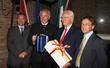 da sx: Regione Veneto-dott. S. Beltrame, Carinzia-Governatore G. Dorfler