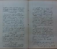 L'atto di concessione pluriennale verso Antonio Tessari fu Sante di Marghera.