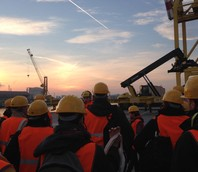 Visita al terminal container PSA Vecon