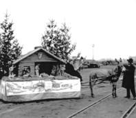 Anni '50 - Presepe itinerante Mariport