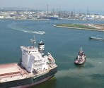 The Port of Venice has recently dredged its canals and the maximum draught is 11