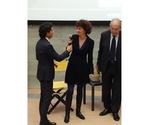 Federica Bosello, responsabile Comunicazione del Porto di Venezia con Lorenzo Cortesi e Piero Rosa Salva, Segretario Generale e