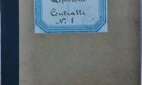 Copertina del Registro di repertorio n. 1 del Regio Provveditorato al Porto