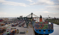Panoramica del Porto di Venezia