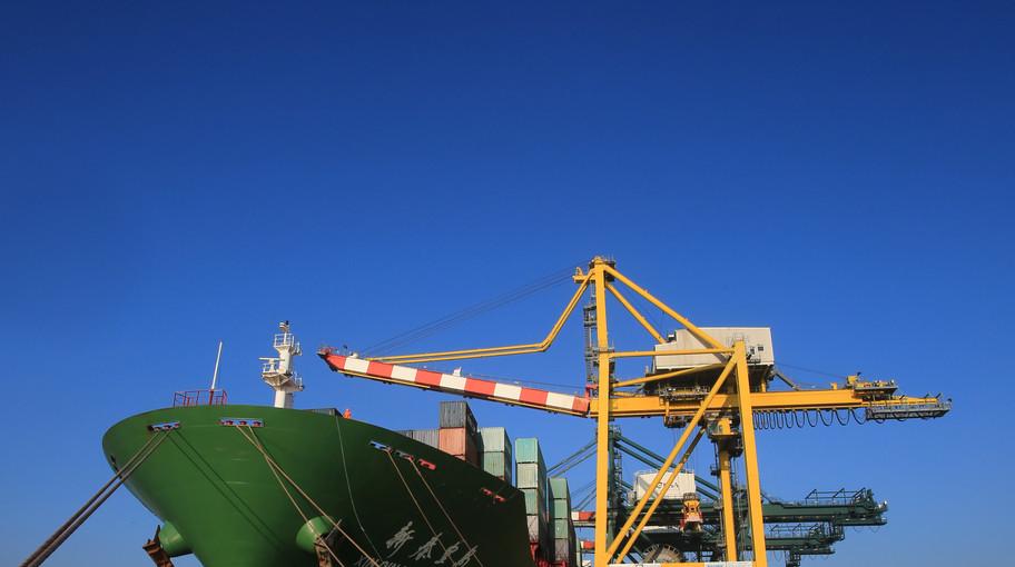 """Il 19 febbraio la """"Xin Qin Huang Dao"""" ha attraccato al porto di Venezia"""