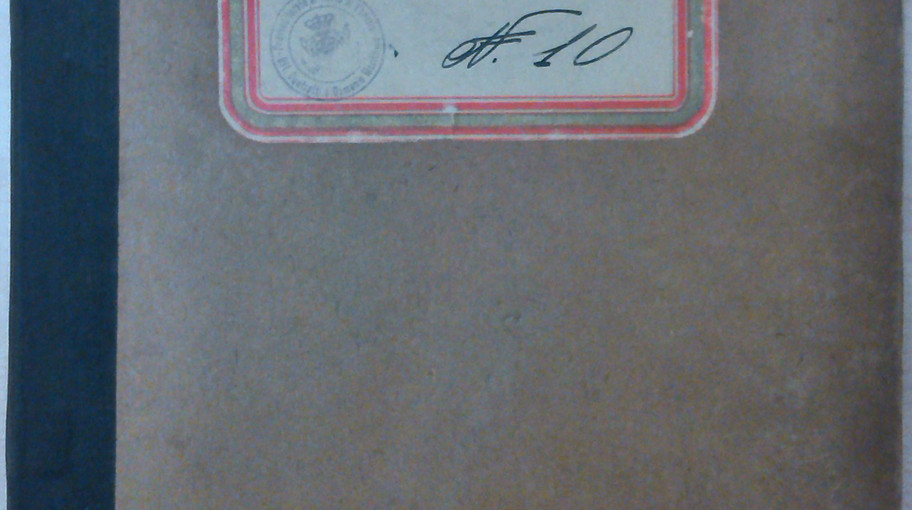 Copertina del registro di repertorio contenente il numero 4907 dell'11/07/1936.