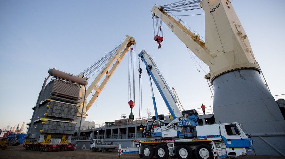 Venezia è uno dei principali porti europei per i project cargo