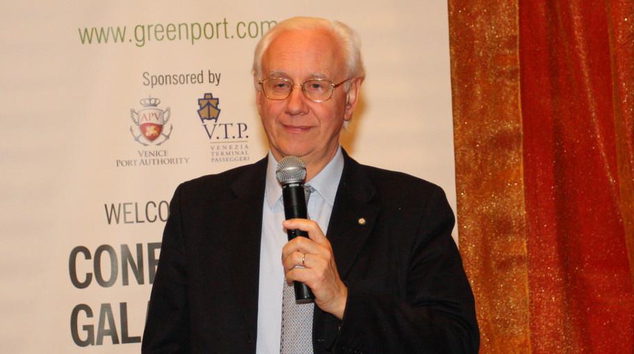 Il Presidente dell'Autorità Portuale di Venezia Paolo Costa