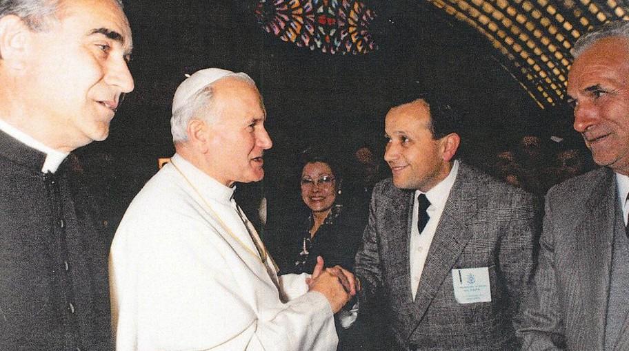 17/06/1985 - Papa Giovanni Paolo II visita Mariport