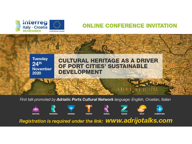 Conferenza Online - Cultural Heritage as a driver of Port's Cities' sustainable