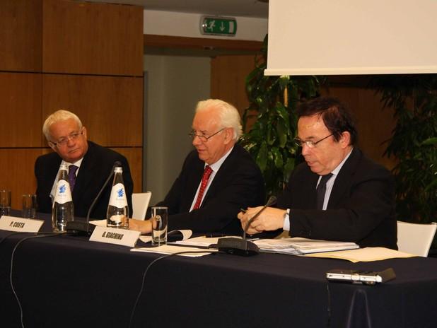 Un momento del dibattito sul Piano Nazionale per la Logistica