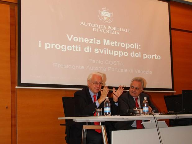 Il Presidente dell'Autorità Portuale di Venezia interviene alla conferenza