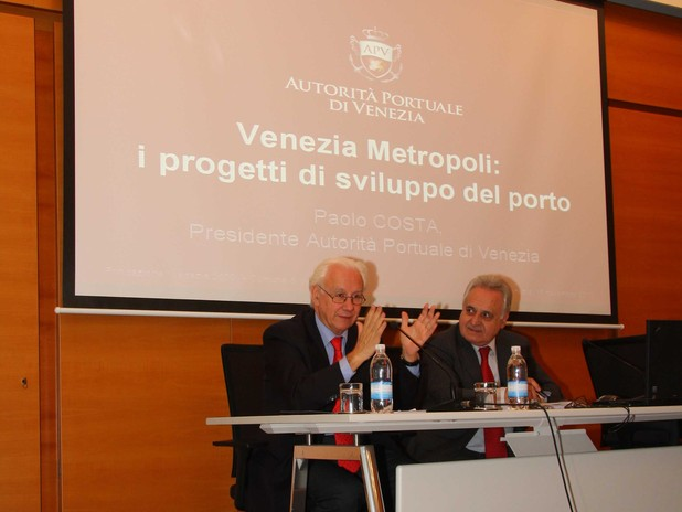 Paolo Costa, President of the Venice Port Authority