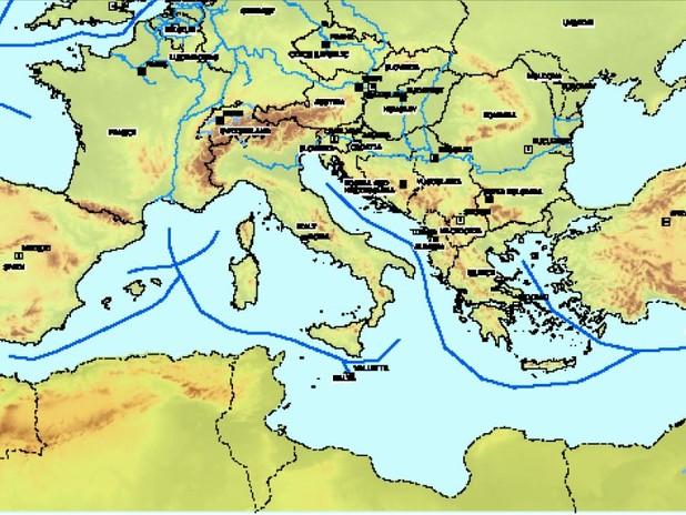 Le Autostrade del Mare del Mediterraneo
