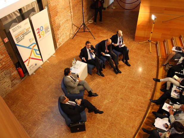 Un momento del Festival delle Città imprese 2011
