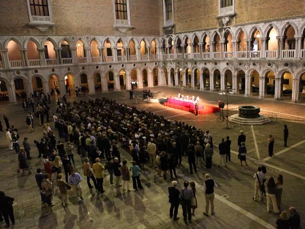 Inaugurazione della mostra Venezia e l'Egitto