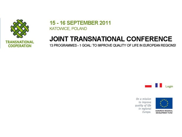 Logo dellla Joint Transnational Conference di Katowice (Polonia)