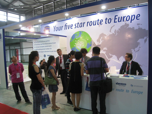 Napa's stand at Transport Logistic China