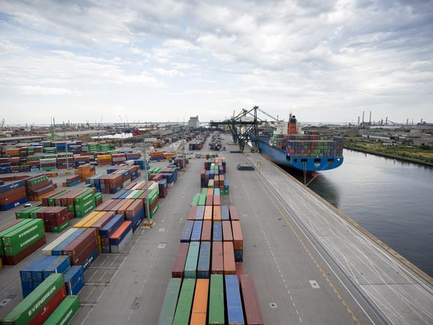 Un'immagine del Porto di Venezia