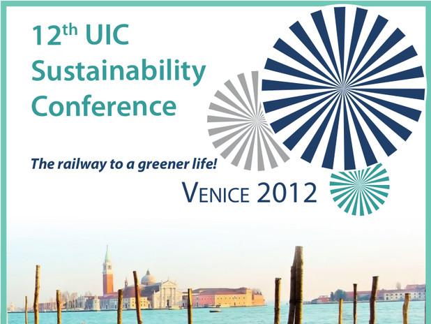La locandina della 12a UIC Sustainability Conference