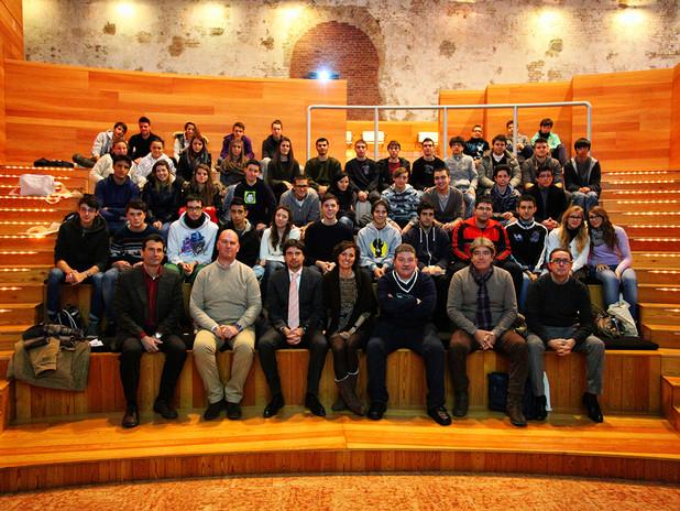 """Incontro con gli studenti a conclusione di """"Porto Aperto 2012"""""""