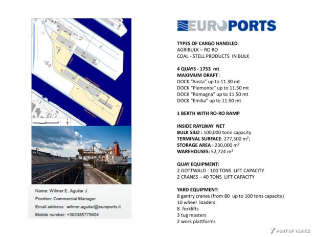 Euroports - Terminal Rinfuse Venezia