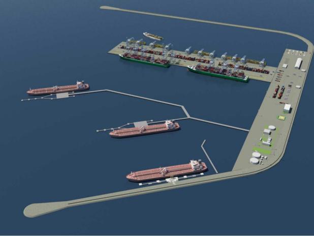 Terminal offshore di Venezia
