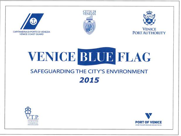 Venice Blue Flag