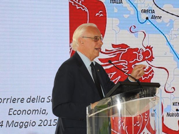 Il Presidente Paolo Costa