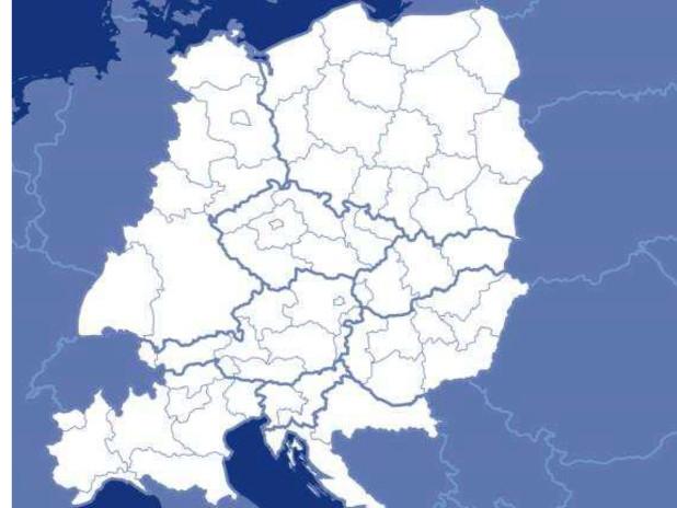 Mappa programma CENTRAL EUROPE