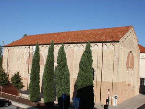 The former Church of Santa Marta now