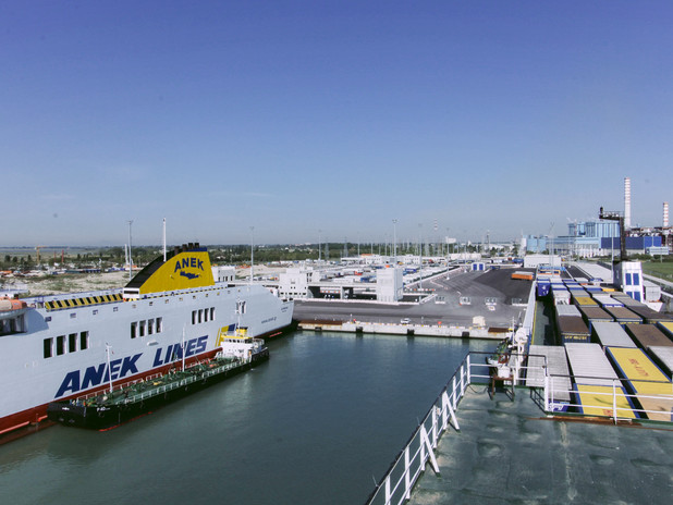 Il terminal delle Autostrade del Mare