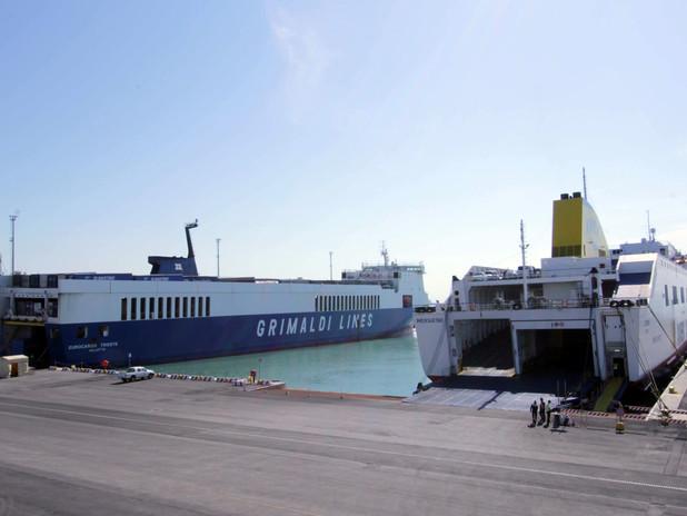 Il terminal Ro-Ro Venice Ro Port Mos