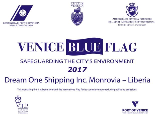 2017 Venice Blue Flag