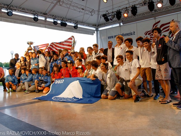 I partecipanti della regata