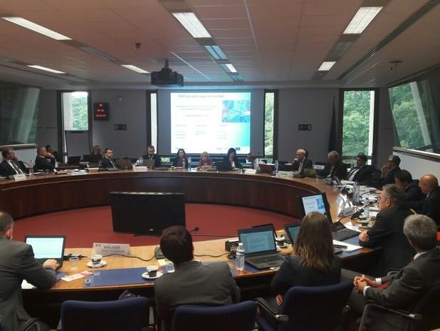 Un'immagine del Meting del Forum del Corridoio europeo Adriatico-Baltico