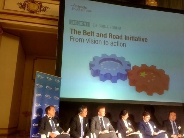 """Il Presidente Musolino partecipa alla tavola rotonda """"The Belt and Road Initizat"""