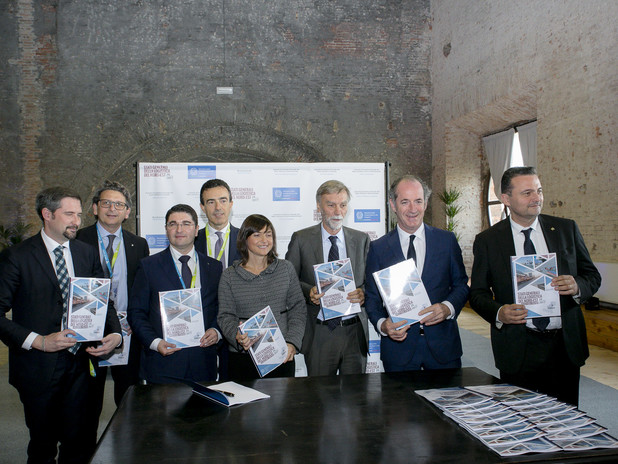 I firmatari del position paper stategico - Cabina di regia del Nord Est