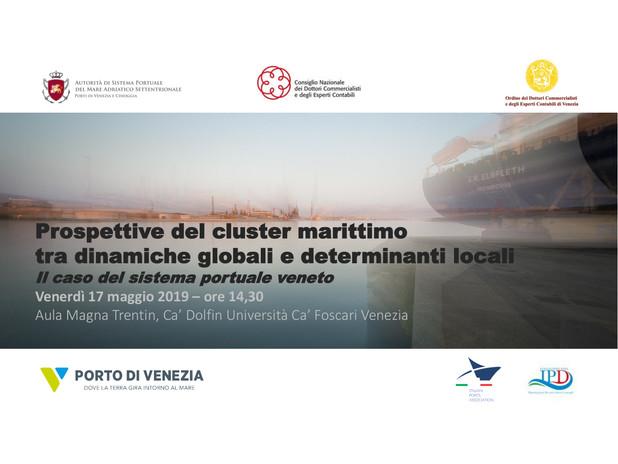 Prospettive del cluster marittimo tra dinamiche globali e determinanti locali: i