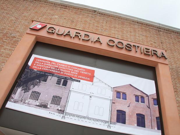 La nuova sede della Guardia Costiera