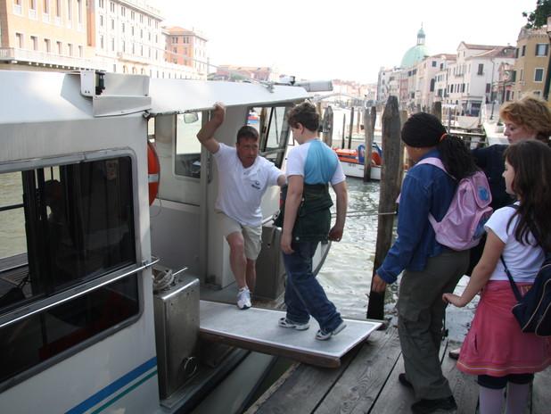 Visita al Porto di Venezia