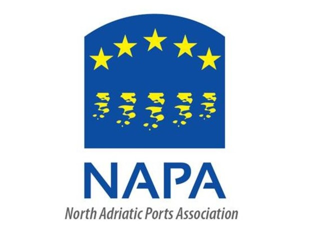 Logo of the North Adriatic Ports Association, NAPA