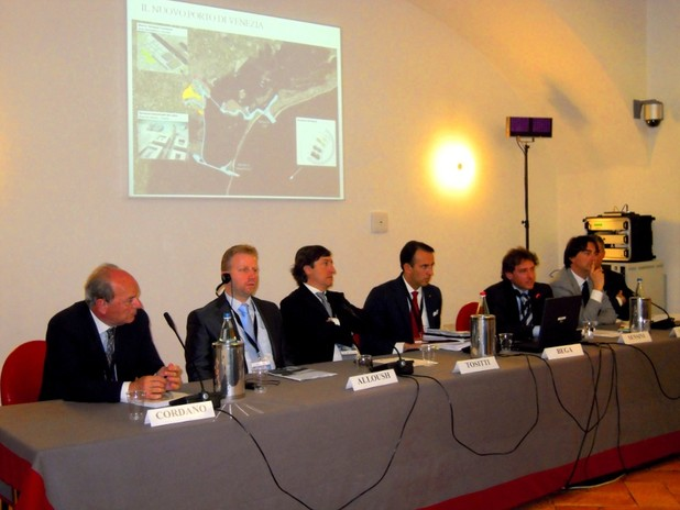 Presentazione a Milano del nuovo servizio ro-pax Venezia - Alessandria d'Egitto