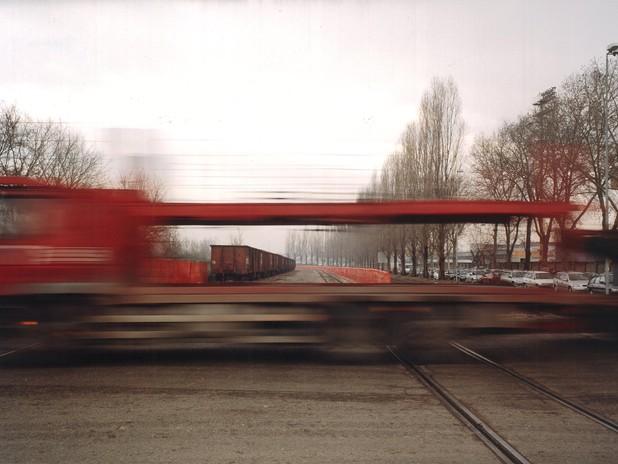Treno merci a Porto Marghera