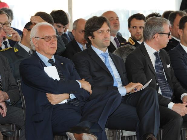 La platea tra cui Paolo Costa e Matteo Zoppas