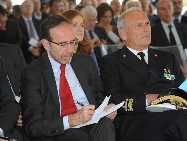 La platea tra cui Riccardo Nencini e Tiberio Piattelli