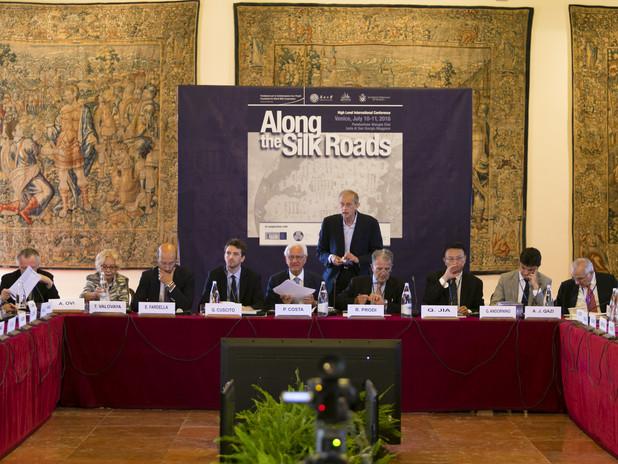 Along the silk roads. International Conference