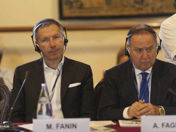 Mauro Fanin, President of Cereal Docks and Alessandro Fagioli, President of Fagi