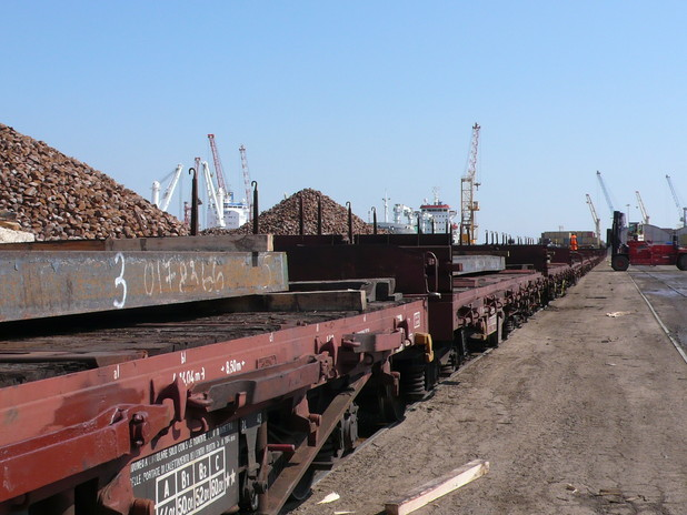 Carri ferroviari e rinfuse ferrose